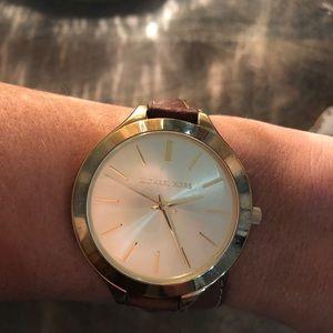 Michael Kors Wrap Around Tan Watch